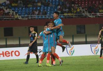 The India U-19 national team. (Photo courtesy: AIFF Media)