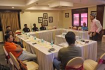 Technical Director Isac Doru during a workshop with the Indian national youth team coaches. (Photo courtesy: AIFF Media)