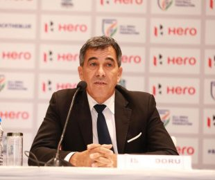 All India Football Federation (AIFF) Technical Director Isac Doru. (Photo courtesy: AIFF Media)