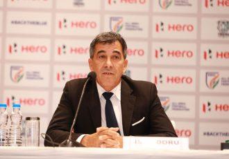 All India Football Federation (AIFF) Technical Director Isac Doru. (Photo courtesy: AIFF Media)