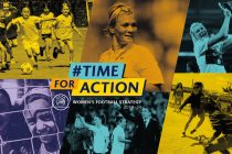 #TimeForAction - UEFA women's football strategy. (Image courtesy: UEFA)