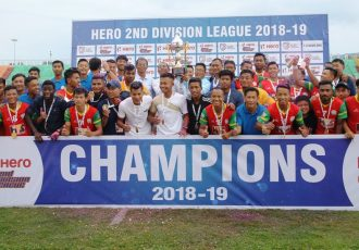 Hero 2nd Division League champions TRAU FC. (Photo courtesy: AIFF Media)