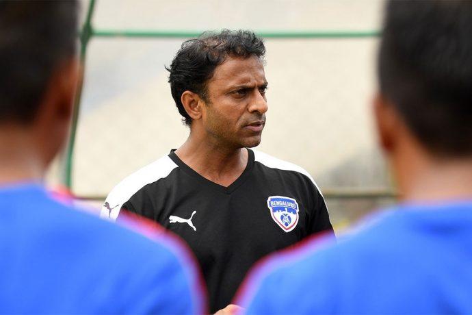 John Kenneth Raj, Head of BFC Soccer Schools and Grassroots Development, Bengaluru FC. (Photo courtesy: Bengaluru FC)