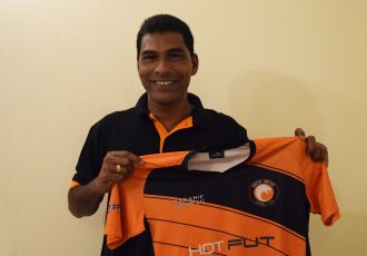 South United FC head coach Alfred Fernandes. (Photo courtesy: South United FC)