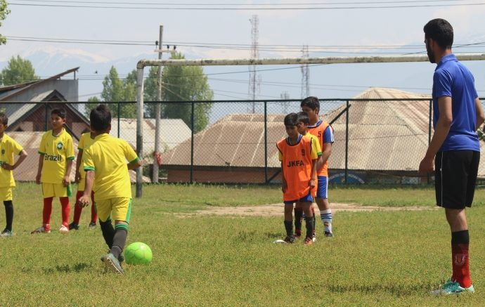 AIFF Grassroots Coaching Course at Pattan, Jammu & Kashmir. (Photo courtesy: AIFF Media)