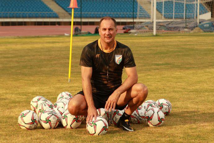 Indian national team head coach Igor Štimac. (Photo courtesy: AIFF Media)