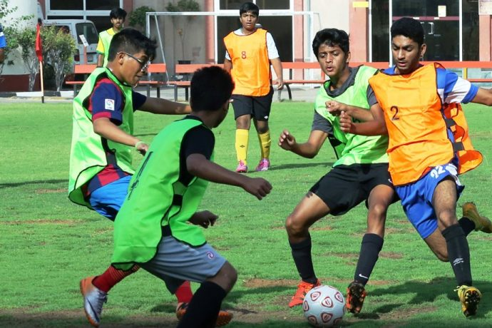 Boys during a training session. (Photo courtesy: AIFF Media)