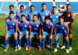 India U-19 national team. (Photo courtesy: AIFF Media)