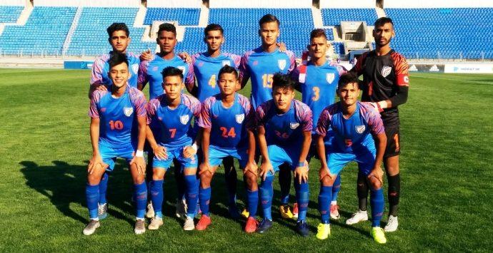 India U-19 national team. (Photo courtesy: AIFF Media)