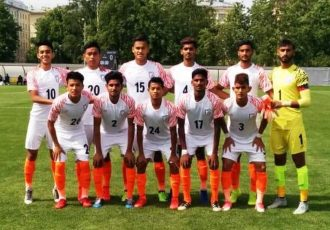 India U-19 national team at the Granatkin Memorial Tournament in Russia. (Photo courtesy: AIFF Media)