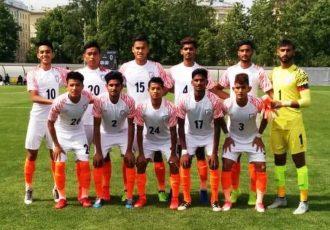 India U-19 national team at the Granatkin Memorial Tournament in Russia. (Photo courtesy: AIFF Media)