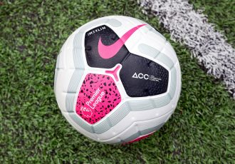 The official match ball for the Premier League 2019-20 season: Nike Merlin. (Photo courtesy: Nike)
