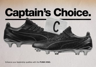 Captain's choice: The all-new PUMA KING Platinum. (Photo courtesy: PUMA)