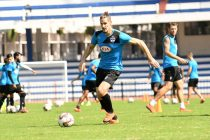 Bengaluru FC defender Albert Serran during a training session. (Photo courtesy: Bengaluru FC)