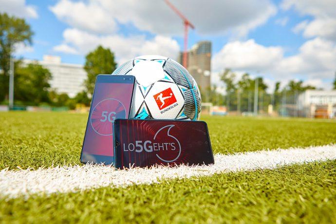 DFL and Vodafone to bring 5G technology to the Bundesliga. (Photo courtesy: Vodafone)
