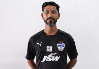 Bengaluru FC U-15 head coach Sachin Badhade. (Photo courtesy: Bengaluru FC)