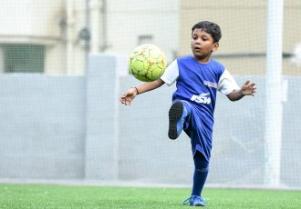 Bengaluru FC Soccer Schools training session. (Photo courtesy: Bengaluru FC)