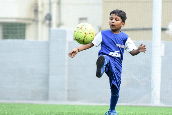 Bengaluru FC Soccer Schools training session. (Photo courtesy: Bengaluru FC)