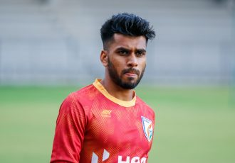 Indian national team midfielder Brandon Fernandes. (Photo courtesy: AIFF Media)