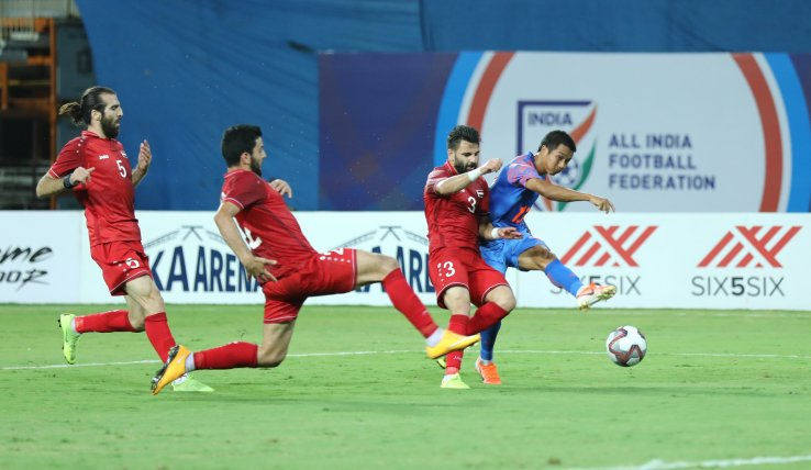 India held to a 1-1 draw by Syria in Hero Intercontinental