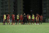 Indian national team training session in Mumbai. (Photo courtesy: AIFF Media)