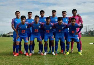 The India U-15 national team. (Photo courtesy: AIFF Media)