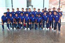 The India U-15 national team squad. (Photo courtesy: AIFF Media)