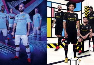 The brand new Manchester City 2019/20 home and away kits by PUMA. (Photo courtesy: PUMA)
