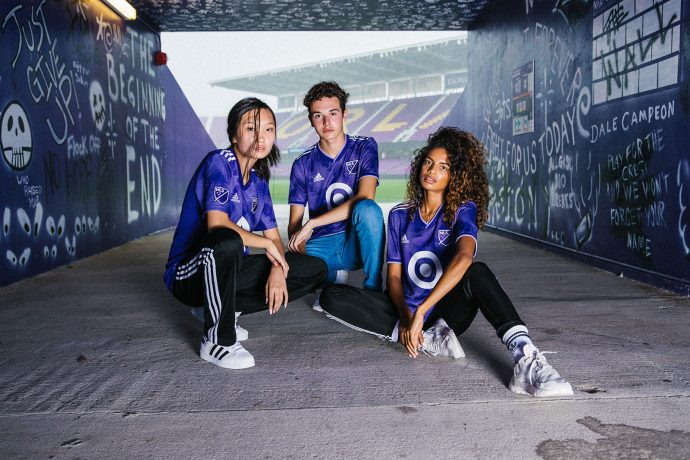 The 2019 MLS All-Star Game jersey by adidas. (Photo courtesy: Major League Soccer)