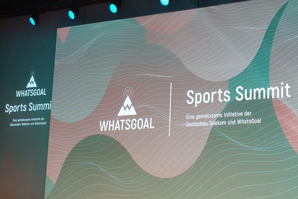 WhatsGoal Sports Summit 2019 at the Stahlwerk in Düsseldorf, Germany. (© CPD Football)