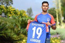 Bengaluru FC winger Ashique Kuruniyan. (Photo courtesy: Bengaluru FC)