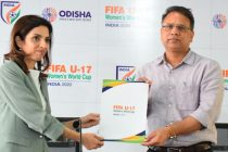Bhubaneswar gets provisional clearance as first FIFA U-17 Women's World Cup India 2020 venue. (Photo courtesy: AIFF Media)