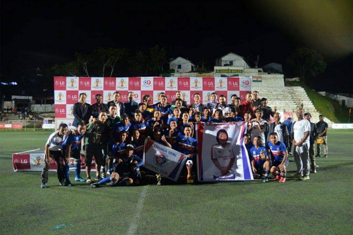 2018 Independence Day Cup champions Chhinga Veng FC. (Photo courtesy: Mizoram Football Association)