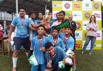 First-ever German Football Academy – India school football tournament for boys and girls in Kolkata.