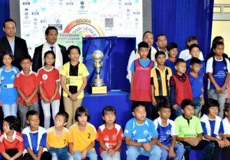Launch ceremony of the 2019 Meghalaya Baby League. (Photo courtesy: AIFF Media)