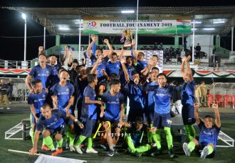 NEXA Independence Day Football Tournament 2019 champions Electric Veng FC. (Photo courtesy: Mizoram Football Association / PC Lala Photography)