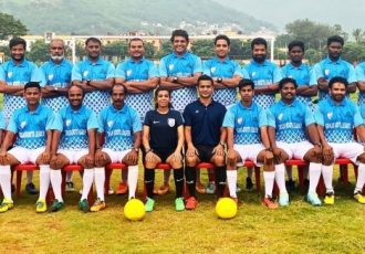 Participants of the Grassroots Leaders Course in Visakhapatnam, Andhra Pradesh. (Photo courtesy: AIFF Media)