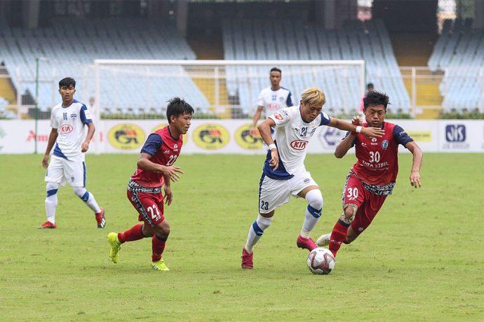 Durand Cup 2019 match action between Bengaluru FC 'B' and Jamshedpur FC. (Photo courtesy: Bengaluru FC)