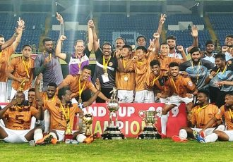 Durand Cup 2019 champions Gokulam Kerala FC. (Photo courtesy: AIFF Media)