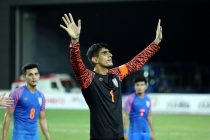 Indian national team goalkeeper Gurpreet Singh Sandhu. (Photo courtesy: AIFF Media)