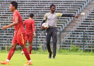 India U-16 head coach Bibiano Fernandes. (Photo courtesy: AIFF Media)
