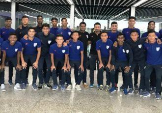 The India U-16 national team squad. (Photo courtesy: AIFF Media)