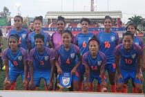 The Indian Women's national team at the COTIF Cup 2019. (Photo courtesy: AIFF Media)