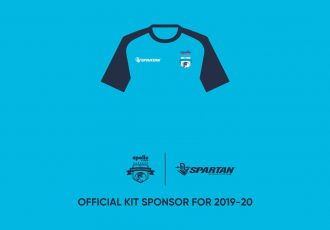 Minerva Punjab FC announce Spartan Sports as official kit sponsors for the 2019/20 season. (Image courtesy: Minerva Punjab FC)