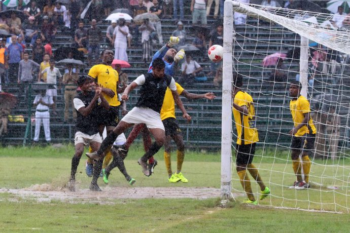 2019/20 Calcutta Premier Division A match action between Mohammedan Sporting Club and Aryan Club. (Photo courtesy: Mohammedan Sporting Club)