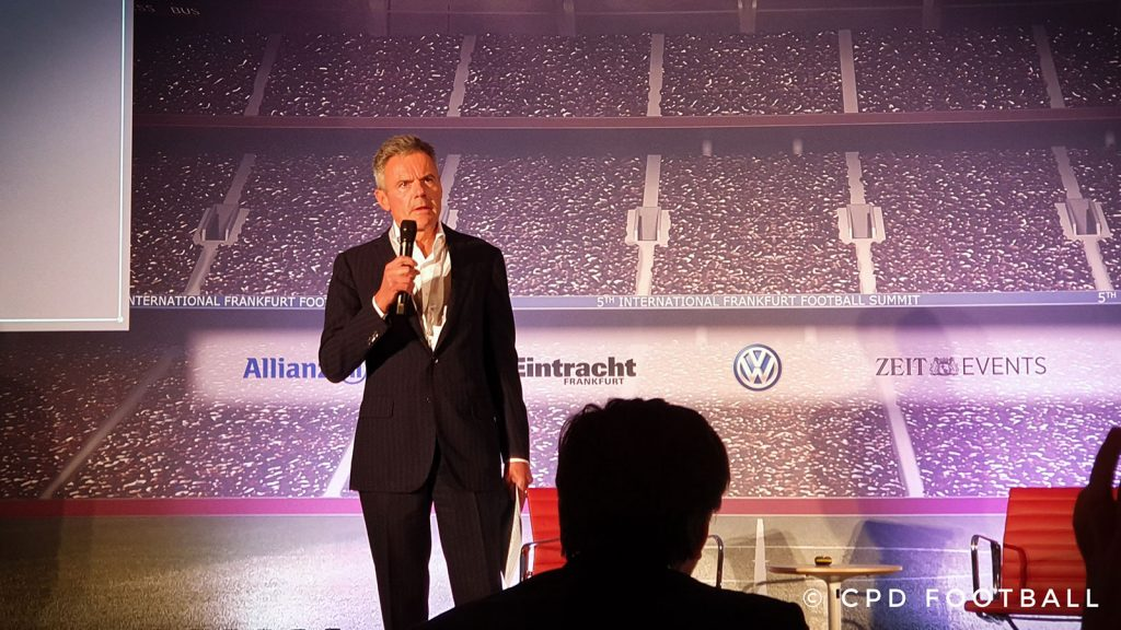 5th International Frankfurt Football Summit 2019: Dr. Rainer Esser, CEO, ZEIT Publishing Group. (© CPD Football)