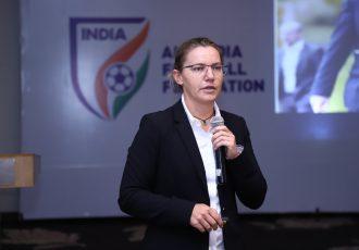 FIFA Women's Football Regional Consultant Ms. Belinda Wilson. (Photo courtesy: AIFF Media)