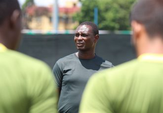 Mohammedan Sporting Club head coach Saheed Sunkanmi Ramon. (Photo courtesy: Mohammedan Sporting Club)