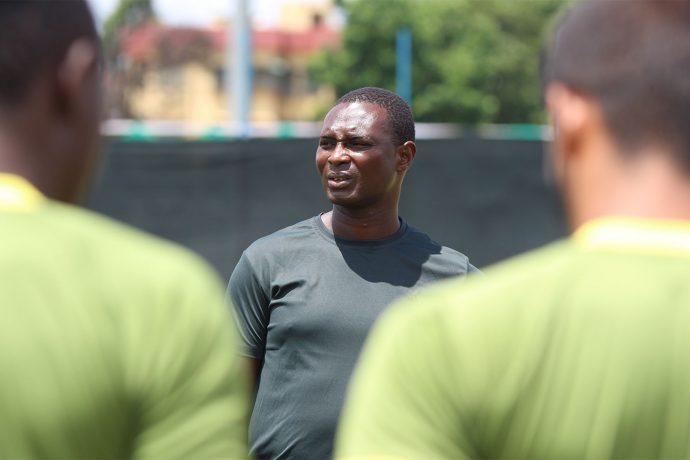 Mohammedan Sporting Club head coach Saheed Sunkanmi Ramon. (Photo courtesy: Mohammedan Sporting Club)