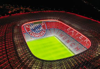 Allianz Arena, the home of FC Bayern Munich. (Photo courtesy: Zumtobel Group)